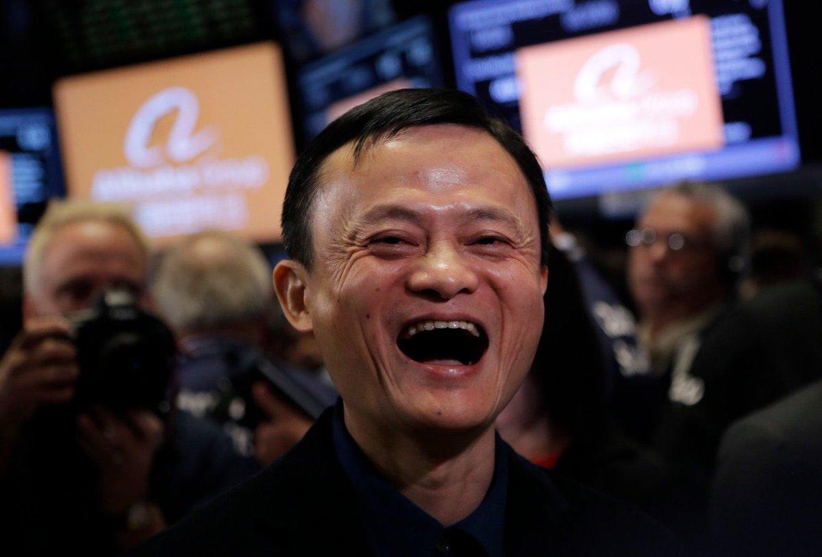 Jack Ma, Chairman of Alibaba