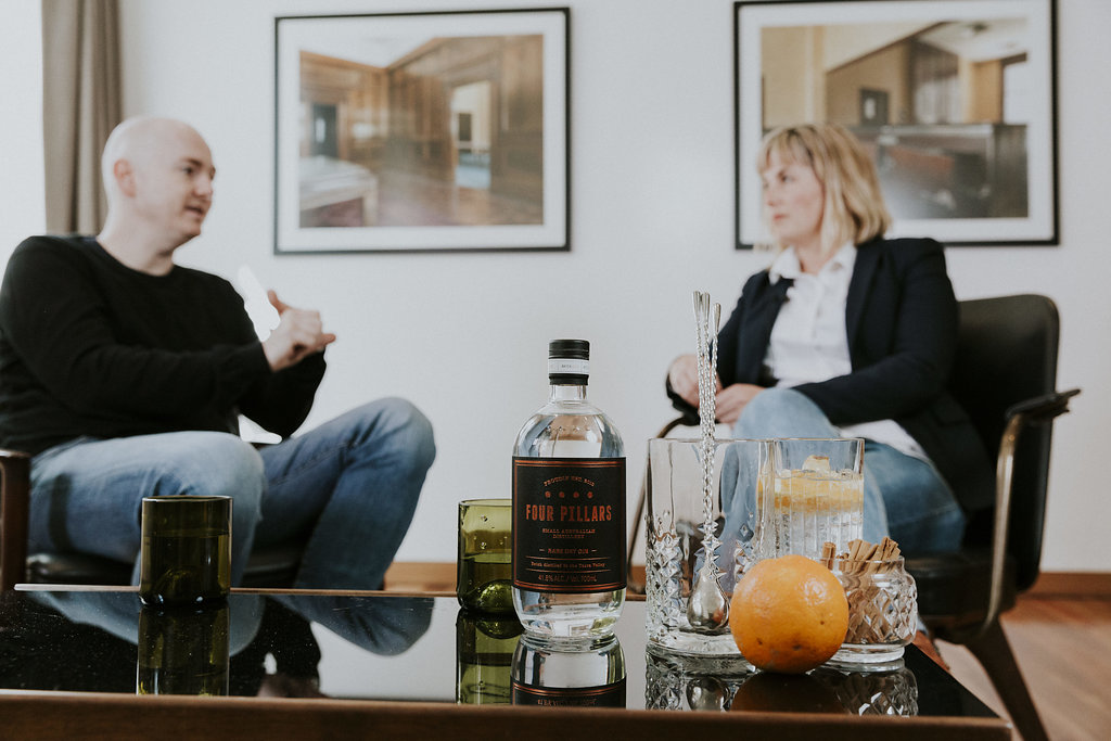 Cathrine Long speaks to Matt Jones of Four Pillars Gin. Long and Co is a Newcastle marketing company.